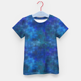 Thumbnail image of Blue Dragon Scales Kid's t-shirt, Live Heroes