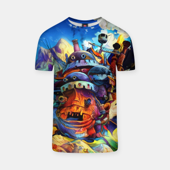 Thumbnail image of Moving Castle Camiseta, Live Heroes