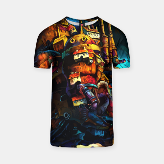 Thumbnail image of Sunset and Castle Camiseta, Live Heroes