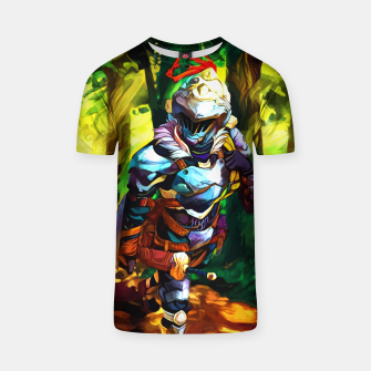 Thumbnail image of Forest walk Camiseta, Live Heroes