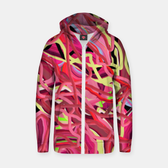 Thumbnail image of Energy flow  Zip up hoodie, Live Heroes