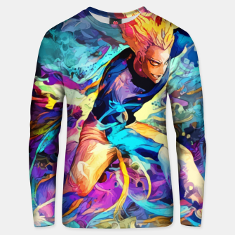 Thumbnail image of Blue Monster Sudadera unisex, Live Heroes