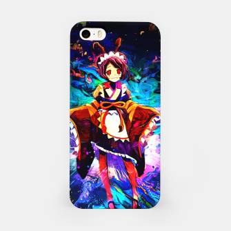 Thumbnail image of Blue Insect Maid Carcasa por Iphone, Live Heroes