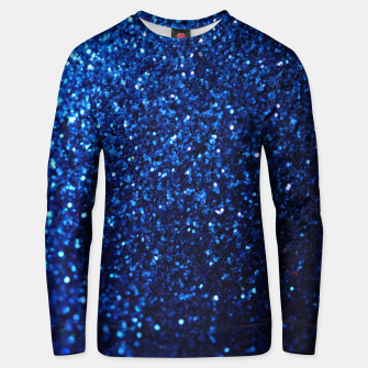 Thumbnail image of Blue Glitter Unisex sweater, Live Heroes