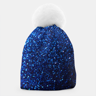 Thumbnail image of Blue Glitter Beanie, Live Heroes