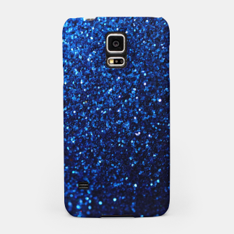 Thumbnail image of Blue Glitter Samsung Case, Live Heroes