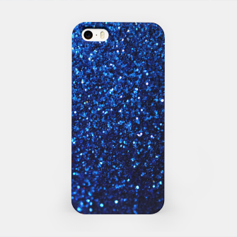 Thumbnail image of Blue Glitter iPhone Case, Live Heroes