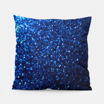 Thumbnail image of Blue Glitter Pillow, Live Heroes