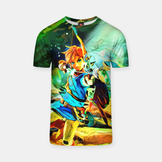 Thumbnail image of green archer Camiseta, Live Heroes