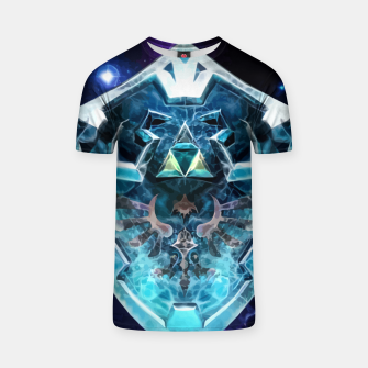 Thumbnail image of frozen shield Camiseta, Live Heroes
