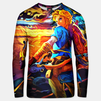 Thumbnail image of sunset view Sudadera unisex, Live Heroes