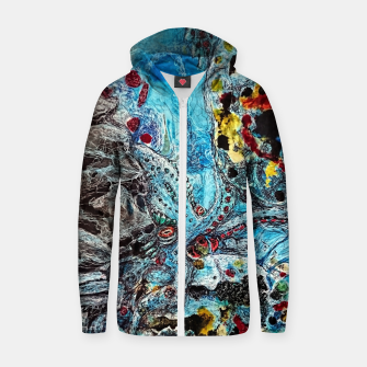 Under the Sea Zip up hoodie thumbnail image