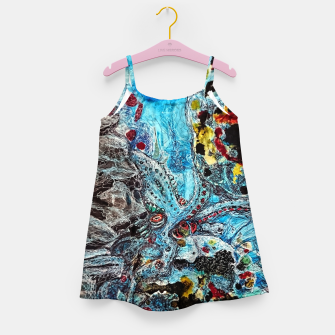Under the Sea Girl's dress thumbnail image