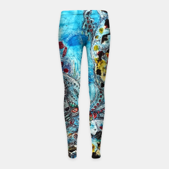 Under the Sea Girl's leggings thumbnail image