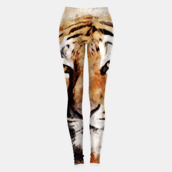 Imagen en miniatura de Watercolour tiger portrait Leggings, Live Heroes