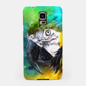 Imagen en miniatura de Watercolor Macaw Parrot Watercolour Painting Samsung Case, Live Heroes