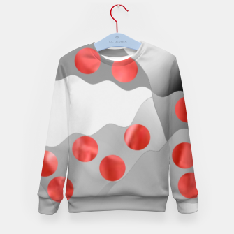 Thumbnail image of Red Drops  Kid's sweater, Live Heroes