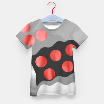Thumbnail image of Red Drops  Kid's t-shirt, Live Heroes