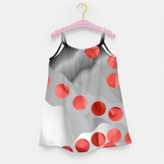 Thumbnail image of Red Drops  Girl's dress, Live Heroes