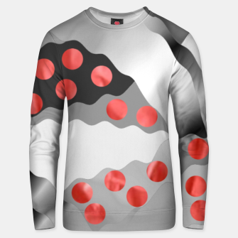 Thumbnail image of Red Drops  Unisex sweater, Live Heroes
