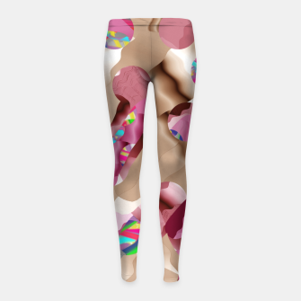 Thumbnail image of Tamben Girl's leggings, Live Heroes
