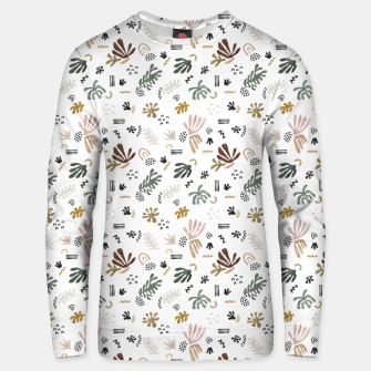 Abstract simple nature shapes Sudadera unisex thumbnail image