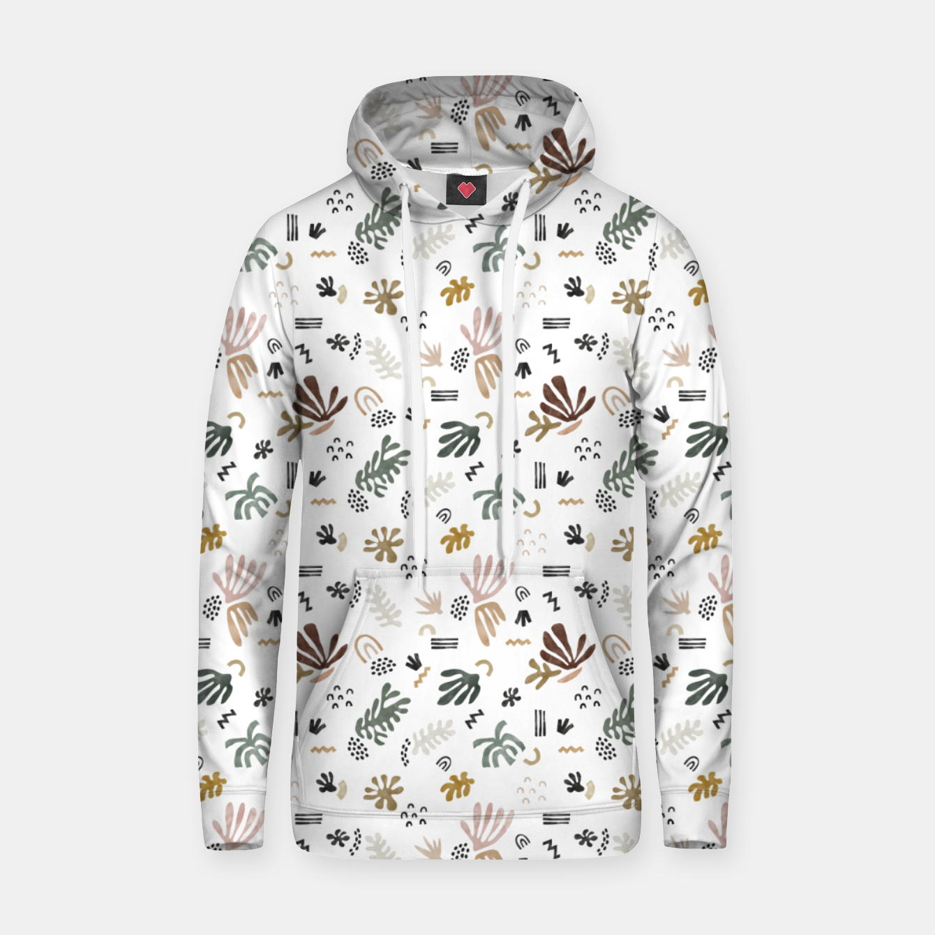Image de Abstract simple nature shapes Sudadera con capucha - Live Heroes