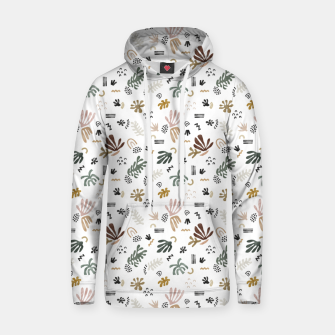 Abstract simple nature shapes Sudadera con capucha Bild der Miniatur