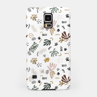 Miniatur Abstract simple nature shapes Carcasa por Samsung, Live Heroes