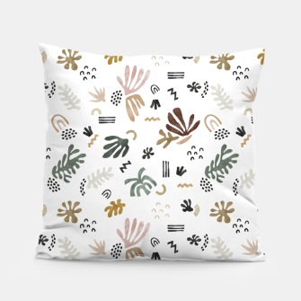 Miniature de image de Abstract simple nature shapes Almohada, Live Heroes