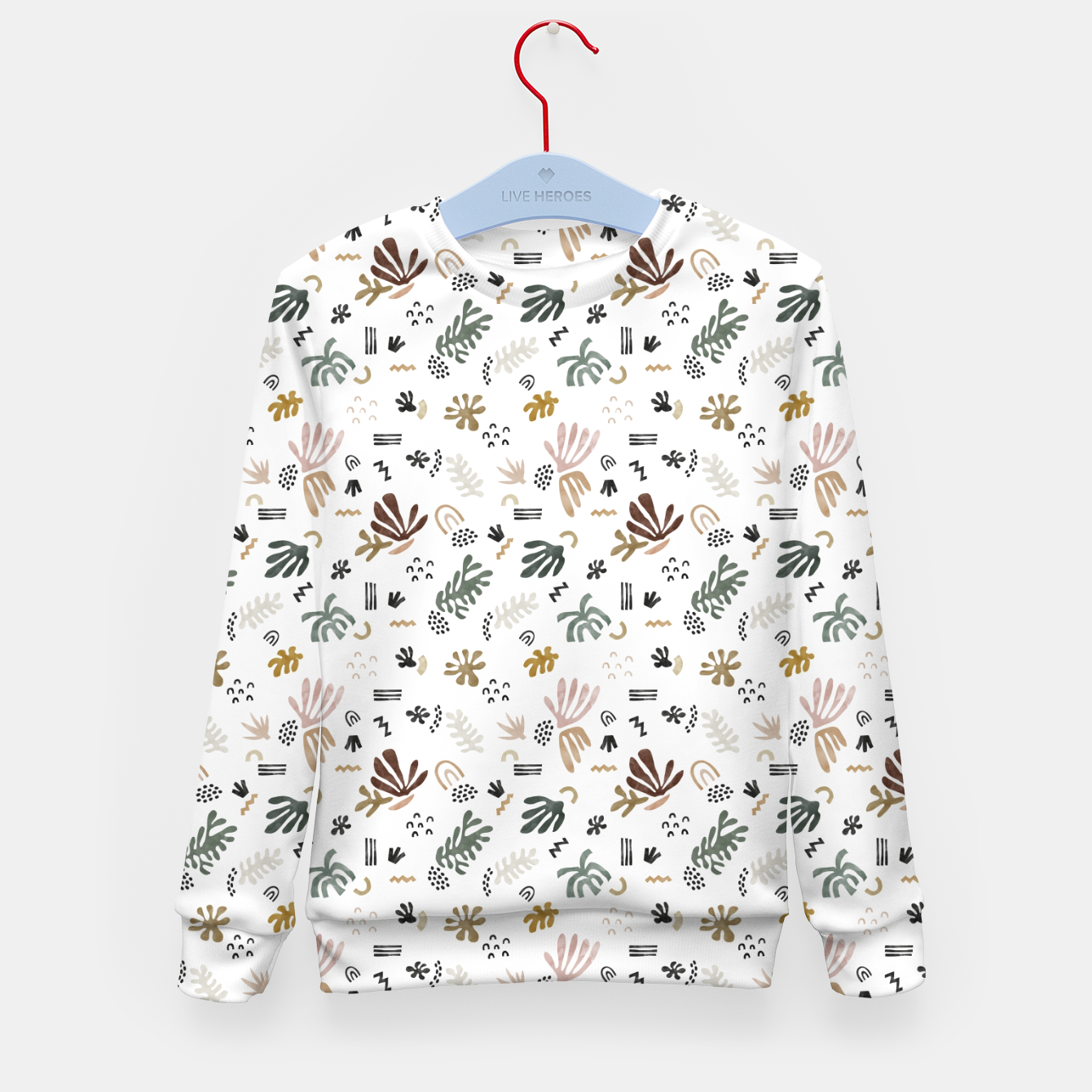 Image de Abstract simple nature shapes Sudadera para niños - Live Heroes