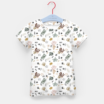 Miniature de image de Abstract simple nature shapes Camiseta para niños, Live Heroes