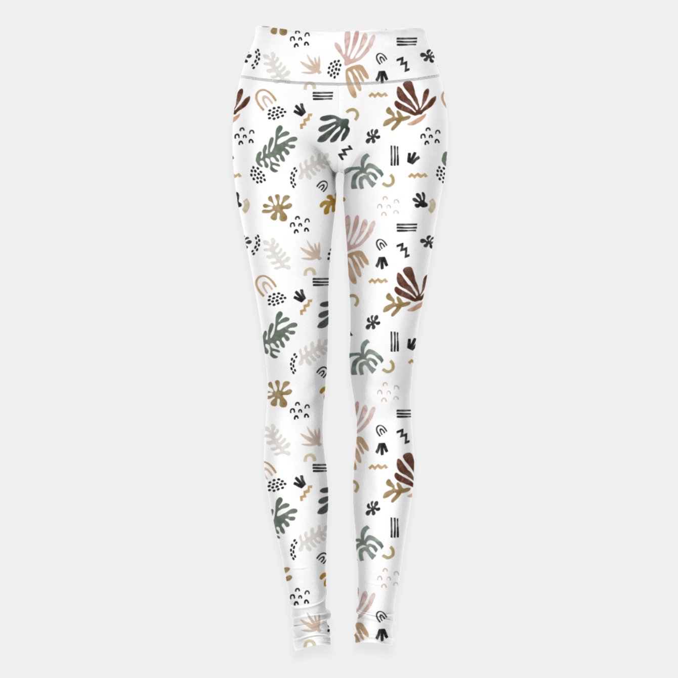 Image de Abstract simple nature shapes Leggings - Live Heroes