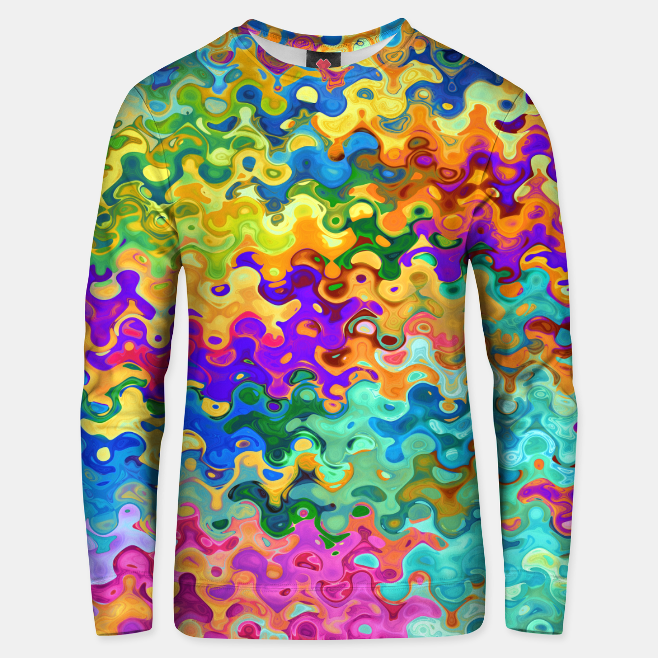 Zdjęcie Colorful Abstraction Unisex sweater - Live Heroes