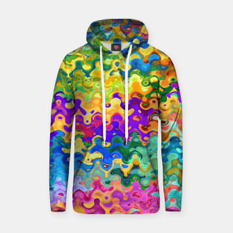 Miniatur Colorful Abstraction Hoodie, Live Heroes