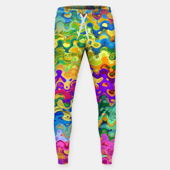 Miniatur Colorful Abstraction Sweatpants, Live Heroes