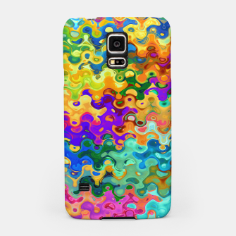 Miniatur Colorful Abstraction Samsung Case, Live Heroes