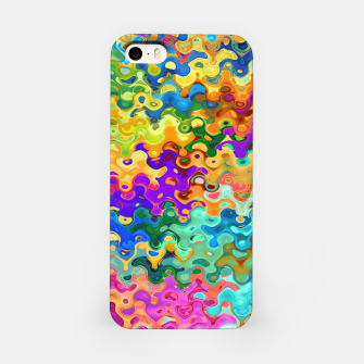 Miniatur Colorful Abstraction iPhone Case, Live Heroes