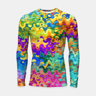 Miniaturka Colorful Abstraction Longsleeve rashguard , Live Heroes