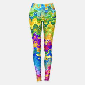 Colorful Abstraction Leggings obraz miniatury