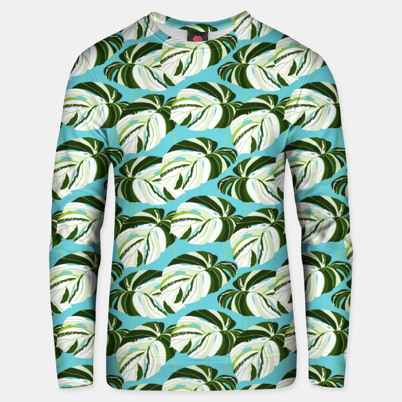 Image of Summer Monstera II Unisex sweater - Live Heroes