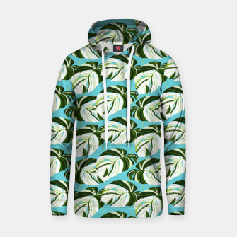 Thumbnail image of Summer Monstera II Hoodie, Live Heroes
