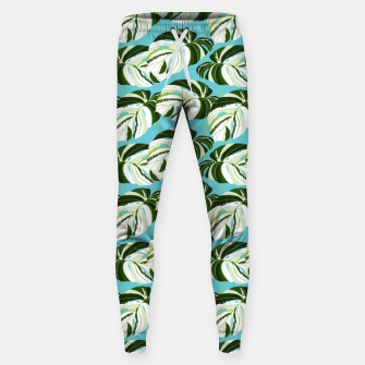Thumbnail image of Summer Monstera II Sweatpants, Live Heroes