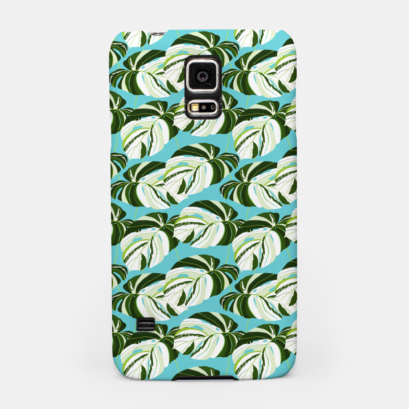 Image of Summer Monstera II Samsung Case - Live Heroes
