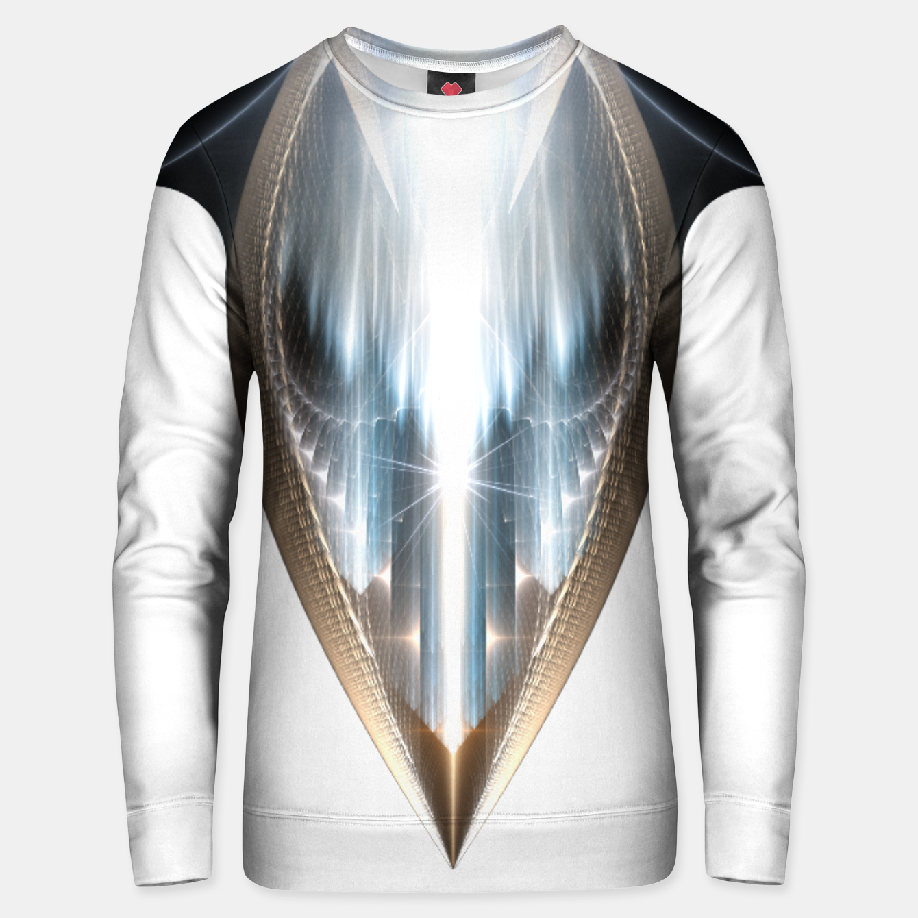 Image of The Cradel Fractal Art Composition INV Unisex sweater - Live Heroes