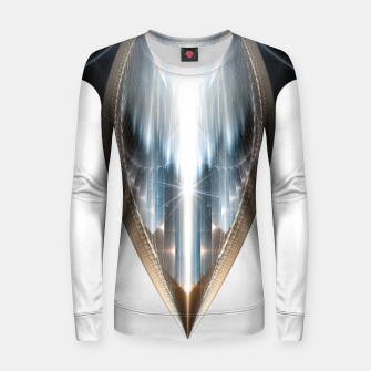 The Cradel Fractal Art Composition INV Women sweater thumbnail image