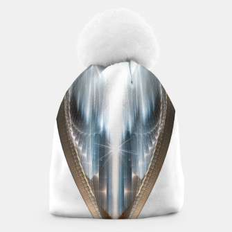 The Cradel Fractal Art Composition INV Beanie thumbnail image