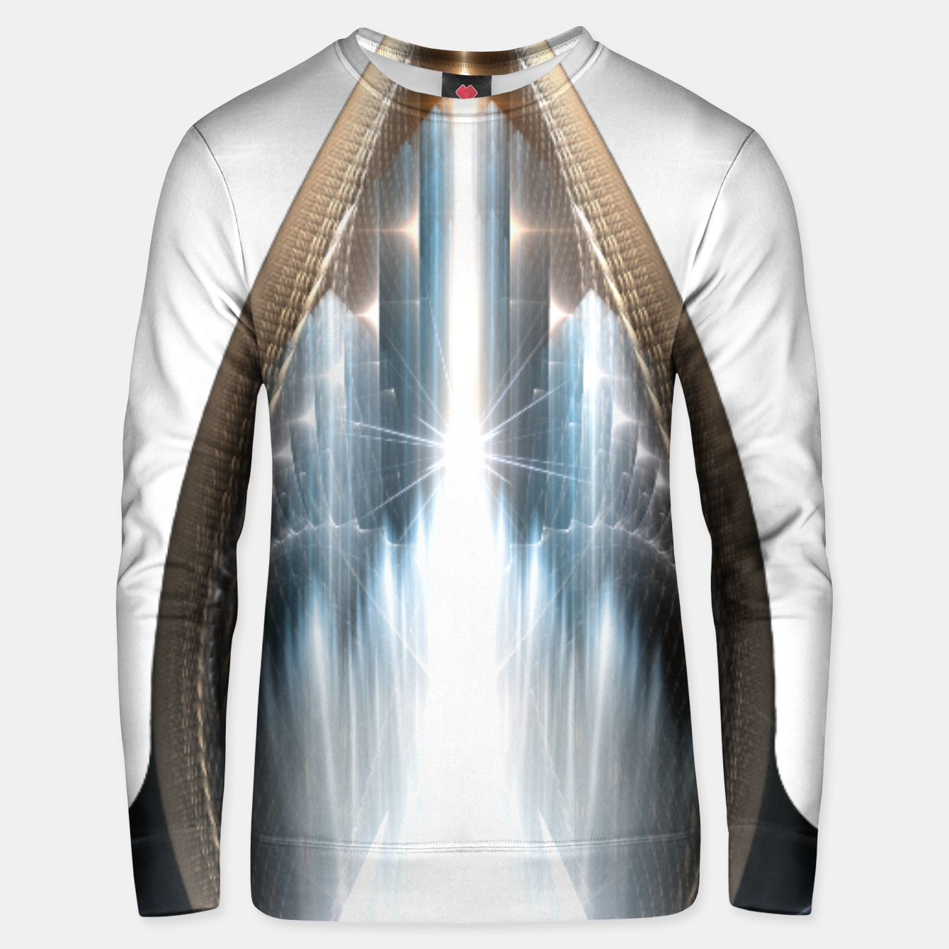 Image of The Cradel Fractal Art Composition Unisex sweater - Live Heroes