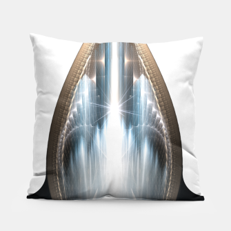 Thumbnail image of The Cradel Fractal Art Composition Pillow, Live Heroes