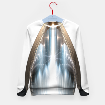 Thumbnail image of The Cradel Fractal Art Composition Kid's sweater, Live Heroes